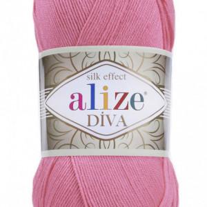 Fir de tricotat sau crosetat - Fir microfibra ALIZE DIVA ROZ 178