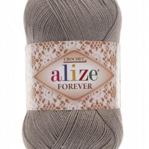 Fir de tricotat sau crosetat - Fir microfibra ALIZE FOREVER GRI 459