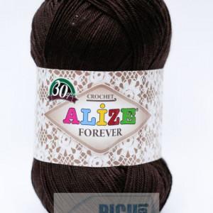 Fir de tricotat sau crosetat - Fir microfibra ALIZE FOREVER MARO 26