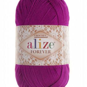 Fir de tricotat sau crosetat - Fir microfibra ALIZE FOREVER MOV 621