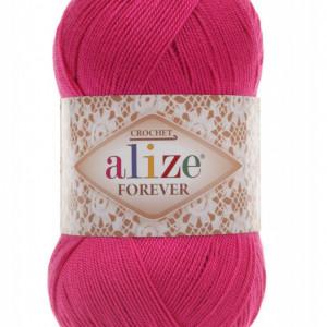 Fir de tricotat sau crosetat - Fir microfibra ALIZE FOREVER ROZ 149