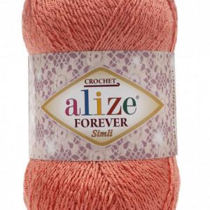 Fir de tricotat sau crosetat - Fir microfibra ALIZE FOREVER SIMLI FREZ 619