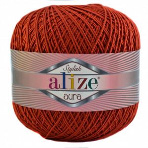 Fir de tricotat sau crosetat - Fire Alize Aura - Rosu - 106