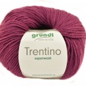 Fir de tricotat sau crosetat - Fire din lana 100% Grundl Trentino -MAGENTA 09