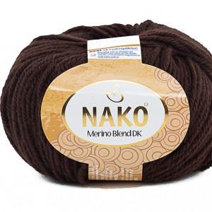 Fir de tricotat sau crosetat - Fire din lana 100% Nako Merino Blend DK - MARO COD 282