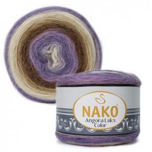 Fir de tricotat sau crosetat - Fire tip mohair acril NAKO ANGORA LUKS COLOR 81921