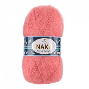 Fir de tricotat sau crosetat - Fire tip mohair acril NAKO MOHAIR DELICATE - ROZ COD 6138