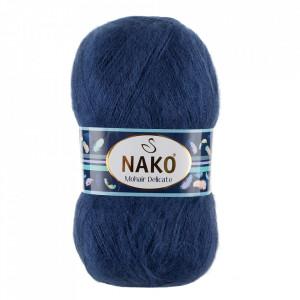 Fir de tricotat sau crosetat - Fire tip mohair acril NAKO MOHAIR DELICATE - BLEOMARIN COD 6146