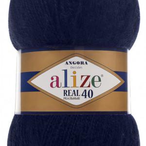 Fir de tricotat sau crosetat - Fire tip mohair din acril Alize Angora Real 40 Bleomaren 58