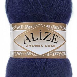Fir de tricotat sau crosetat - Fire tip mohair din acril Alize Angora Gold Bleomaren 58