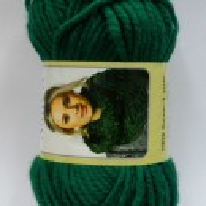 Fir de tricotat sau crosetat - Fire tip mohair din acril AMICA VERDE - 327