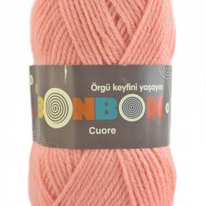 Fir de tricotat sau crosetat - Fire tip mohair din acril BONBON CUORE - FREZ - 98227