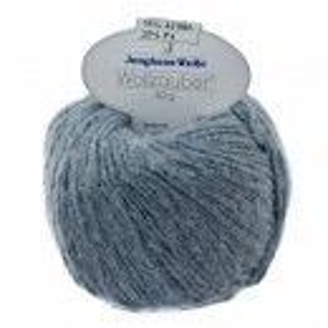 Fir de tricotat sau crosetat - Fire tip mohair din acril CANGURO - Wollzauber - GRI  4