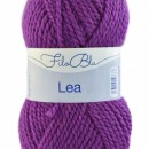 Fir de tricotat sau crosetat -Fire tip mohair din acril GRUNDL - LEA - 07-MAGENTA