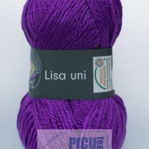 Fir de tricotat sau crosetat - Fire tip mohair din acril GRUNDL LISA UNI MOV 43