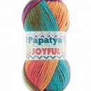 Fir de tricotat sau crosetat - Fire tip mohair din acril Kamgarn Papatya Joyful degrade 22