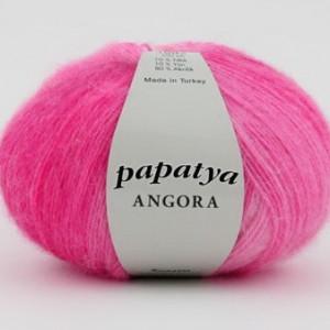 Fir de tricotat sau crosetat - Fire tip mohair din acril Kamgarn Papatya Angora degrade 05
