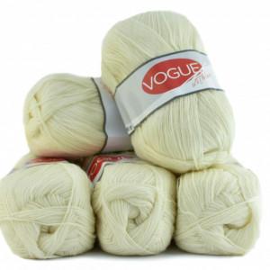 Fir de tricotat sau crosetat - Fire tip mohair din acril Nako Export - #7882-CREAM