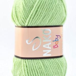 Fir de tricotat sau crosetat - Fire tip mohair din acril Nako SUPER BEBE VERNIL 10262