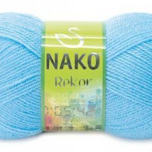 Fir de tricotat sau crosetat - Fire tip mohair din acril premium Nako REKOR  BLEO 214