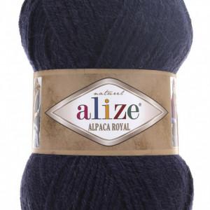 Fir de tricotat sau crosetat - Fire tip mohair din alpaca 30%, lana 15%, acril 55% Alize Alpaca Royal BLEOMAREN 58