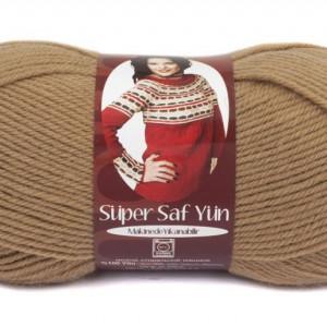 Fir de tricotat sau crosetat - Fire tip mohair din lana 100% Nako Super SAF YUN BEJ 221
