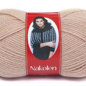 Fir de tricotat sau crosetat - Fire tip mohair din lana 50% si acril 50% Nakolen BEJ 10390