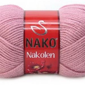 Fir de tricotat sau crosetat - Fire tip mohair din lana 50% si acril 50% Nakolen ROZ 275