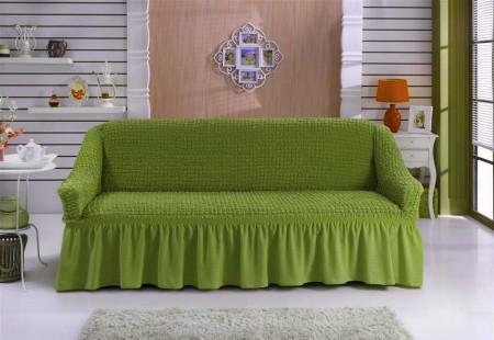 Husa pentru canapea de 3 locuri - Verde