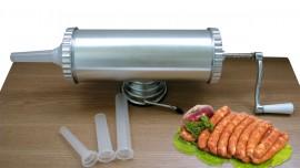 Masina de facut carnati inox 1.5 kg Renberg RB 4001