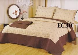 Cuvertura de pat bumbac brodat EC30
