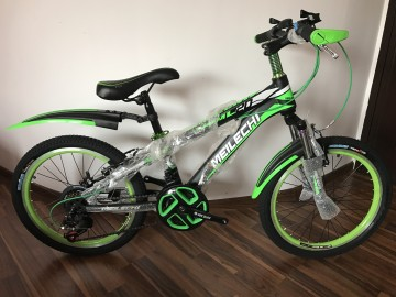 Bicicleta copii 20 inch 6-9 ani echipata Shimano cu 18 viteze