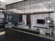 Perdea franjurata ( ate ) dimensiuni 3 x 3 metri - Bej Auriu