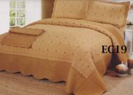 Cuvertura de pat bumbac brodat EC19