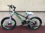 Bicicleta Caraiman pt copii 20 inch 6-9 ani echipata Shimano cu 21 viteze si Frane Disc