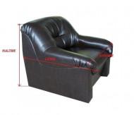 Husa elastica din bumbac pentru Canapea 3 Locuri - culoare Antracit