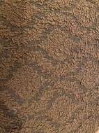 Husa Multielastica Jacquard pentru coltar, cu volanas, culoare Maro Deschis