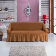 Husa pentru canapea de 3 locuri - Mustar Inchis