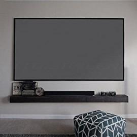 "Poze Panza proiectie profesionala tip iMax ""CinemaGrey 75%"" 16:9 145 x 260 cm"