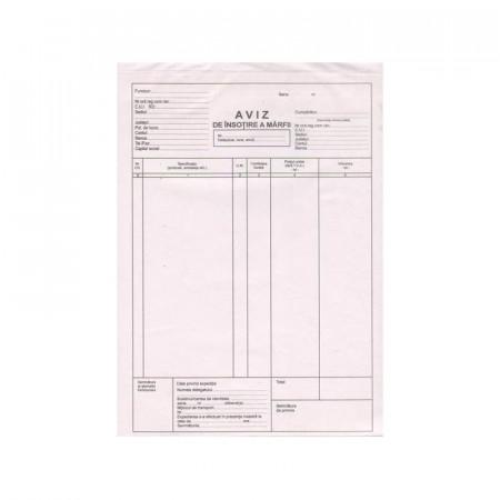 Aviz A4, 150 file, autocopiativ, 3 exemplare