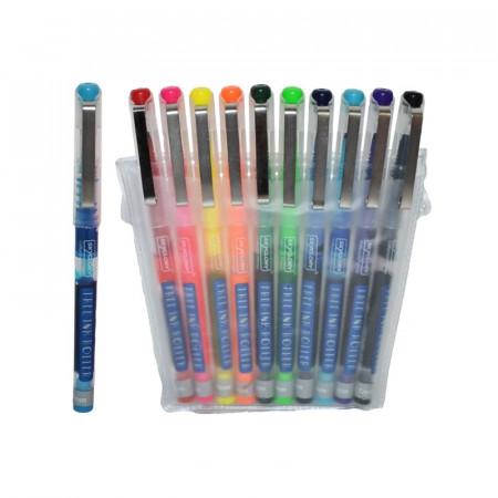 Ink Roller fosforescent - Set 10