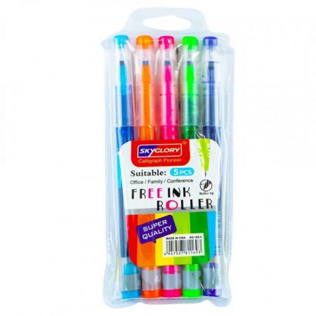 Ink Roller fosforescent - Set 5