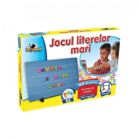 Jocul Literelor Magnetic