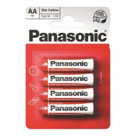 BATERII PANASONIC R6 RED ZINC