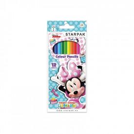 Creioane color - Minnie 12 culori|set - STARPAK