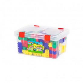 Cuburi constructii, 174 piese/cutie, Polesie