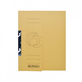 Dosar color de incopciat 1|2 320g galben auriu Set 10 - HERLITZ