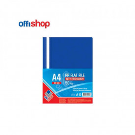 Dosar plastic A4, 120/180 mic, Albastru - OFFISHOP