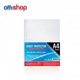 Folie protectie A4, Cristal, 40 MIC, 100 buc/set - OFFISHOP