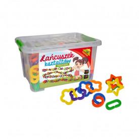 Joc constructii Lant, 160 piese/cutie - Tupiko